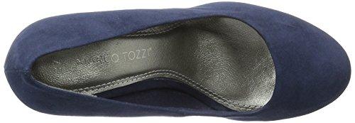 Marco Tozzi 22441, Escarpins Femme Bleu (Navy Comb 890)