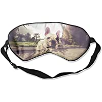 Eye Mask Eyeshade Bulldog Looking Sleeping Mask Blindfold Eyepatch Adjustable Head Strap preisvergleich bei billige-tabletten.eu