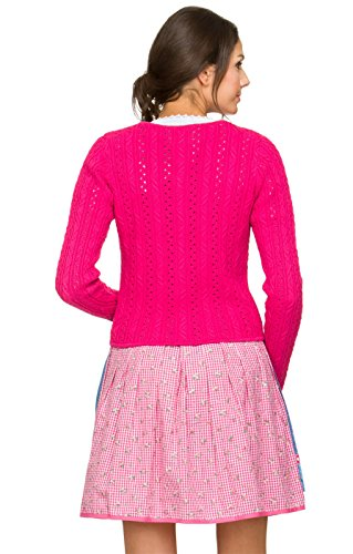 Trachten Strickjacke Liz pink, 46 -