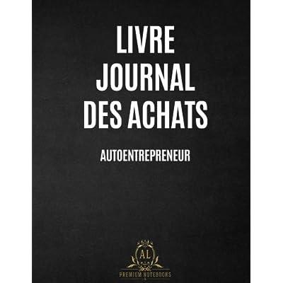 Livre Journal des Achats Auto-entrepreneurs