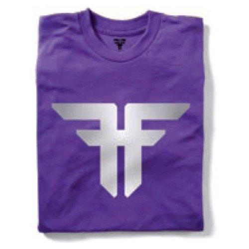 Fallen Herren T-Shirt Trademark purple/grey fade