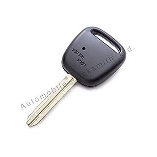 Für Toyota, 1 seitliche Tasten Schlüssel Gehäuse TOY43 Schlüssel Klinge