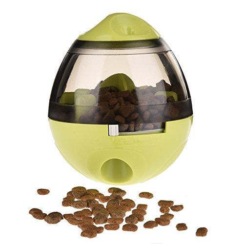 yunt dispensador de comida perro gato Poussah juguete dispensador perro resistente a los Morsures para mascotas