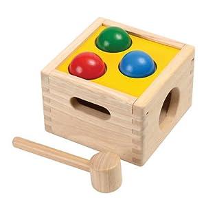 Plan Toys - 9424 - Caja Golpea y Cae Plan Toys 12m+