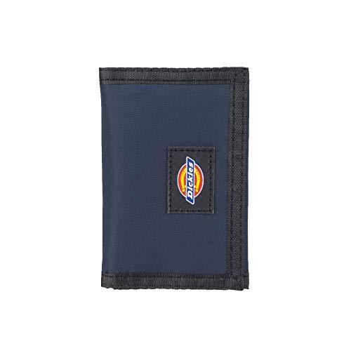 Dickies Herren Nylon Trifold Wallet Geldbörse, Navy, Einheitsgröße