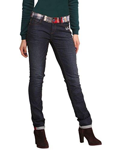 DESIGUAL Mujer Dise ador Top Jeans Pantalones LINDA 28