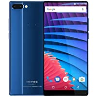 Vernee Mix 2 (6GB) - 6,0 Zoll FHD (18: 9 alle Bildschirm) Octa Core 2,5 GHz 6 GB + 64 GB, dreifache Kamera (8MP + 5MP + 13MP), GPS, 4200mAh Batterie - Blau