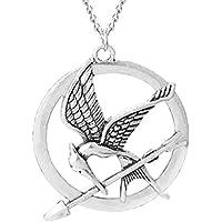 Collares Hunger Games Garrulus glandarius - juegos del hambre - The Girl Of Fire - Mockingjay - La chica del fuego - pájaro y flecha- Cosplay