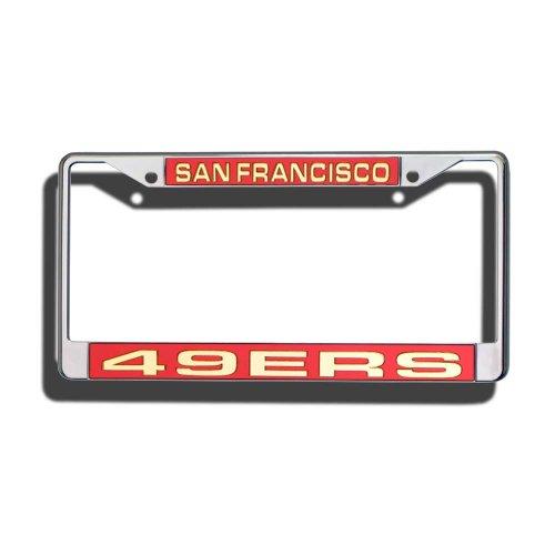 Jersey Niner (NFL Laser Chrom Teller Rahmen, unisex, San Francisco 49ers)