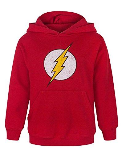 felpa-per-bambini-con-logo-di-flash-al-centro-red-7-8-anni