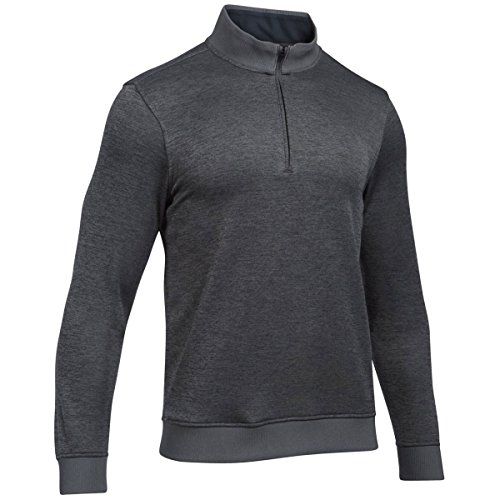 Under Armour 2017 Mens UA Storm SweaterFleece 1/4 Zip LS Top Layer Golf Sweater Grey Medium