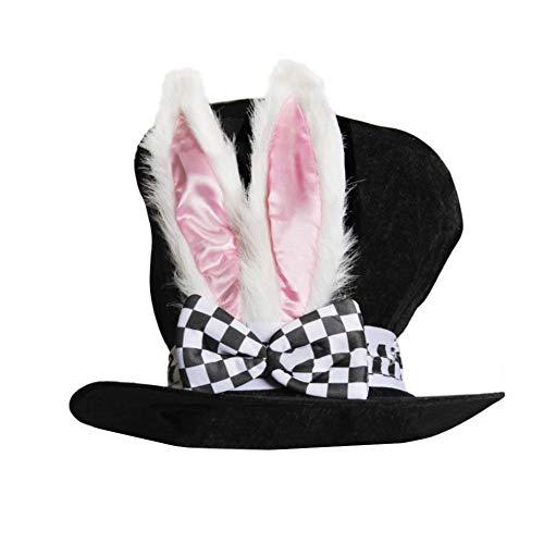 Lifire Samt Hase Ohr Hohe Mütze - Ostern Weihnachten Türkei Party Dekoration Bunny Ear Cap