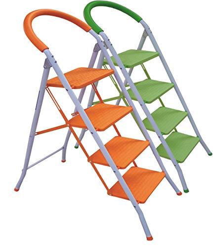 Escalera Plegable Multi-Función con Peldaños y Tope Anti-deslizantes. Mod.: Step de Eneide. Taburete...