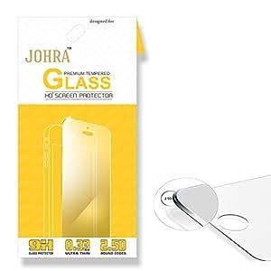 Johra for Samsung Galaxy On8 2.5D 9H HD+ Premium Tempered Glass for Samsung On8 Tempered Glass
