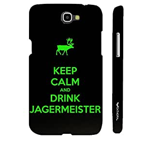 Samsung Galaxy Note 2 EVERYONE LOVES JAGER designer mobile hard shell case by Enthopia