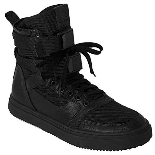 Killstar - Zapatillas de Sintético para Mujer Negro Negro One Size, Color Negro, Talla 38 EU