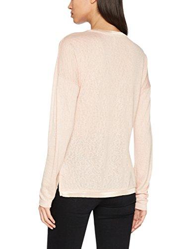ONLY Damen Langarmshirt Onlriley L/S Fab/Wild Top Box Ess Rosa (Cameo Rose Print:Wild1)