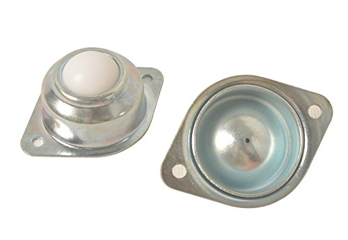 wei Löchern 2,5cm Nylon Kugellager Transfer Einheit Tisch BAFA Roller Ball für die Übermittlung, Möbel, Rollstuhl ()