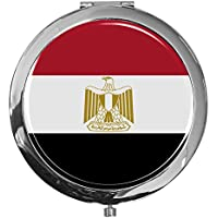"""metALUm - Extragroße Pillendose in runder Form""""Flagge Ägypten"""" preisvergleich bei billige-tabletten.eu"""