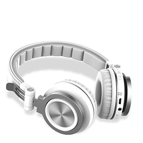 Bluetooth-Kopfhörer über Ohr, Wireless-Over-Ear-Kopfhörer mit HiFi-Deep-Bass, Eingebautes Mikrofon, Kabel-Modus für PC / Tablets / Handys / TV