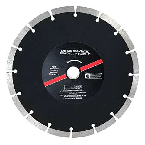 Dekton DT80455 9-inch Dry Cut Segmented Diamond Tipped Blade