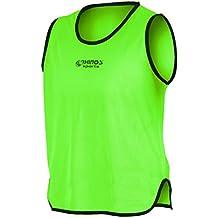 RHINOS Sports - Camiseta de entrenamiento, camiseta de marcación, color verde, tamaño medium