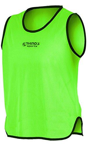 RHINOS sports Trainingsleibchen, Markierungshemd grün L