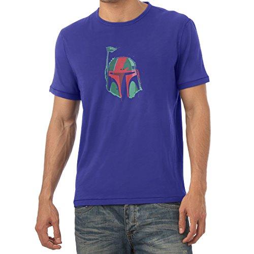 TEXLAB - Ziggy Fett - Herren T-Shirt Marine