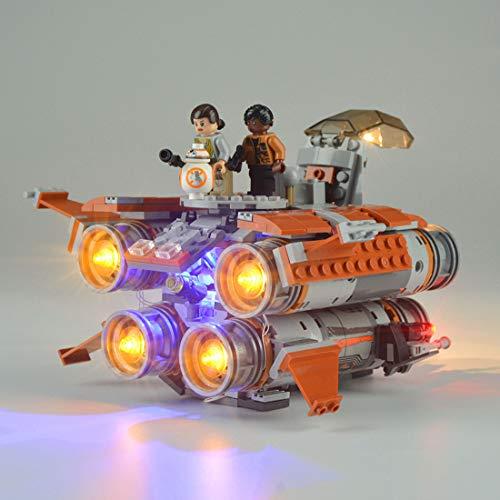 POXL Licht-Set Für Lego Star Wars Jakku Quadjumper Raumschiff 75178 - LED - Lego Quadjumper
