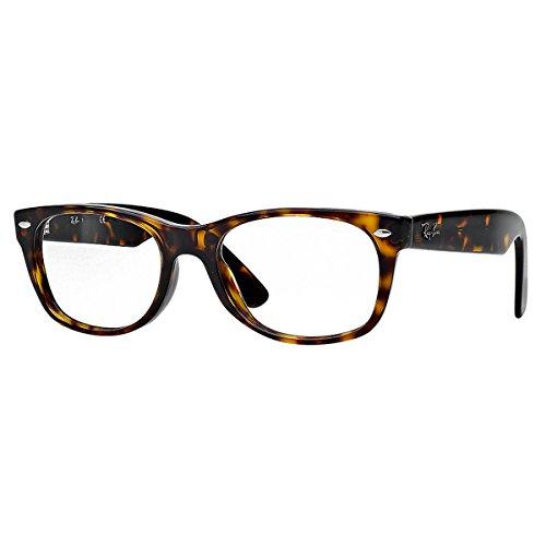 RAYBAN Unisex-Erwachsene Brillengestell 5184, Braun (Havana), 50