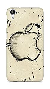 Amez designer printed 3d premium high quality back case cover for HTC Desire 626 G (Apple Art)