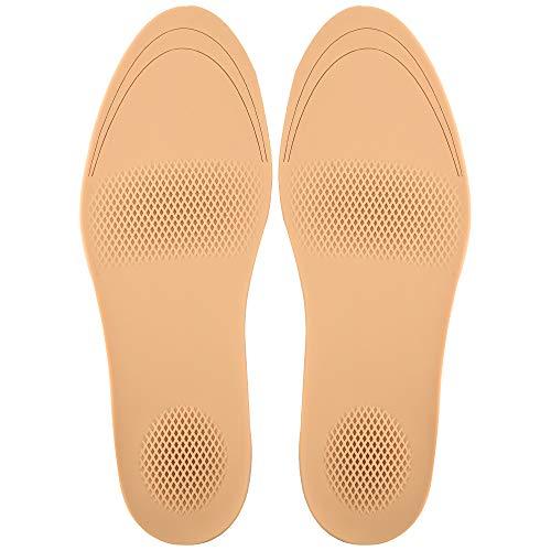 Soumit Silikon Einlegesohlen, rutschhemmend, Unterseite mit Effektiv, geeignet zur Absorption der Urti, zur Korrektur von Dämpfen und Waschgängen Eu 38-41