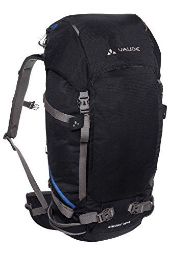 VAUDE Simony 40+8 Liter, Wanderrucksack, Trekkingrucksack black