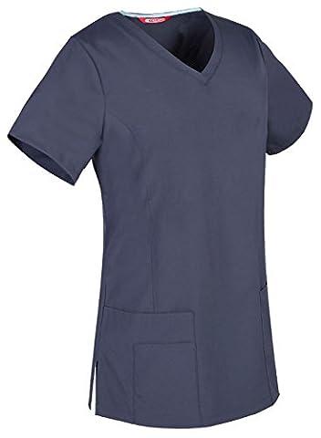 TAILOR Women's Stretch V-Neck Scrub / Nursing Uniforms/ Medical Scrubs