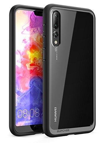 SUPCASE Huawei P20 Pro Hülle Premium Handyhülle Hybrid Case Transparent Schutzhülle Backcover [Unicorn Beetle Style] für Huawei P20 Pro 2018 (6.1 Zoll) (Schwarz) Mag Hardback
