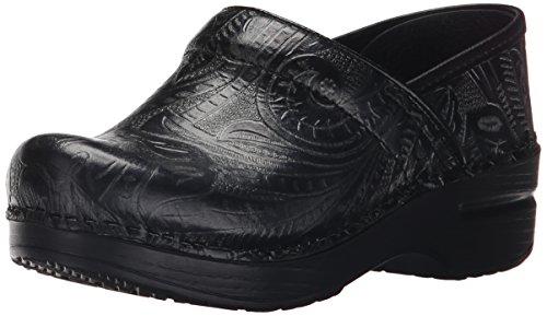 Dansko Professional Damen Schwarz Leder Pantoletten Schuhe Neu EU 35 (Dansko Damen Schuhe)