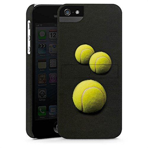 Apple iPhone 6 Silikon Hülle Case Schutzhülle Tennis Bälle Sport Premium Case StandUp
