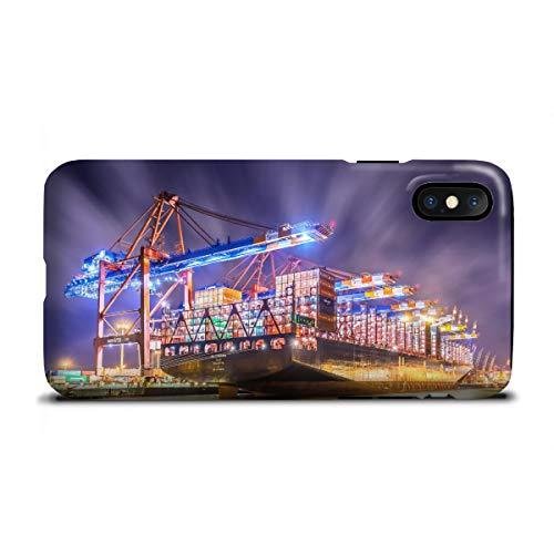 artboxONE Apple iPhone X Tough-Case Handyhülle Al Zubara von Jan Hartmann - Tough-Case Handyhülle Smartphone Case
