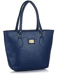 Mermaid Fancy Stylish Elegance Fashion Blue Colour Faux Leather Handbag Bag For Women