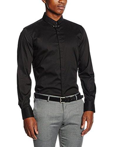 Antony Morato Camicia con Piercing Sul Collo, Camicia da Uomo
