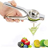 Exprimidor de limón de aluminio desmontable, exprimidor de granada, exprimidor de limón, exprimidor