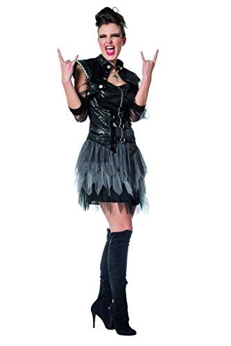 Wilbers 4100 Damenkostüm Piratin Pirat Punk Punkerin Metal Kostüm Damen Karneval ()
