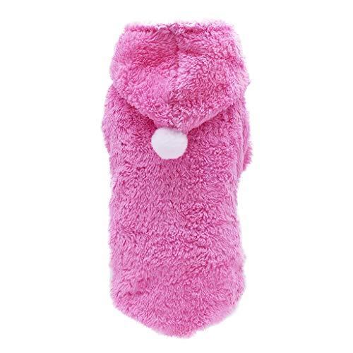 Haustier Mantel niedliche Kleine Fleece Hundebekleidung Schöne Hund Katze Winter warme Pullover Welpen Mantel Jacke Kleidung für Welpen Small Medium Large Dog