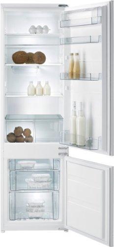 Gorenje RKI 4182 EW Einbau-Kühl-Gefrier-Kombination  A  Höhe: 177,5 cm  Kühlteil: 223  Gefrierteil: 61 L  weiß  FreshZone-Schubfach