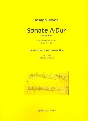 Haydn, Franz Joseph: Sonate A-Dur Hob.XVI:2b : für Klavier