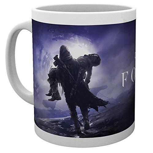 Destiny 2 - Forsaken - Tasse | Füllmenge 320 ml | Weiß aus Keramik