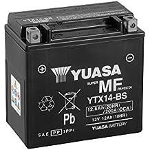 Batería Yuasa YTX14-BS, 12 V/12Ah (tamaño: 150 x 87