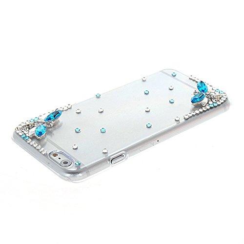 MOONCASE Bling Crystal Shell Diamond Cover Housse Coque Etui Case Pour Apple iPhone 6 Plus A14292
