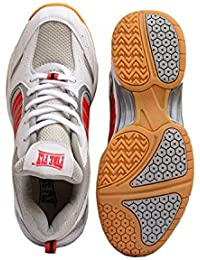 FIRE FLY Performer Non Marking Badminton Shoes for Men PU Professional Light Weight