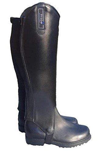 Tysons Breeches Stiefelschaft Stiefelschäfte EXTRA weit XXXL Leder Weite ca. 45-50 39 cm